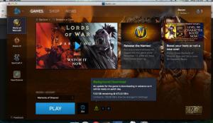 Blizzard desktop