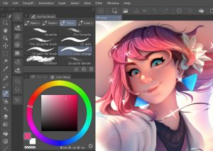 Clip Studio Paint EX colring